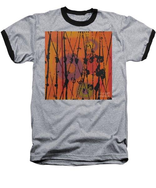 Baseball T-Shirt featuring the painting Maya 1 by Mini Arora