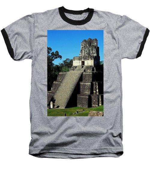 Mayan Ruins - Tikal Guatemala Baseball T-Shirt