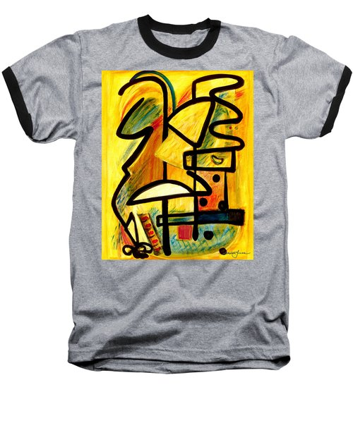 Mayan Baseball T-Shirt by Stephen Lucas