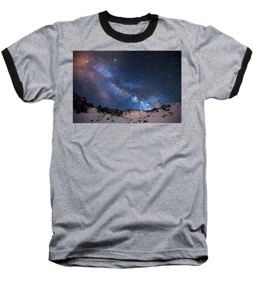Mayflower Gulch Milky Way Baseball T-Shirt