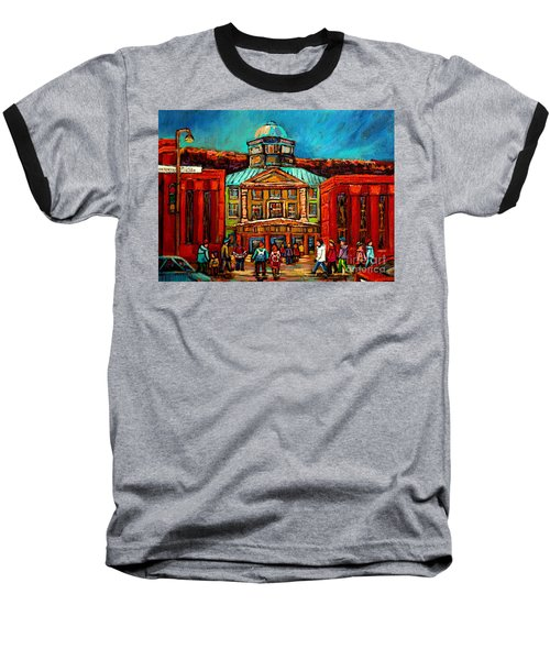 Mcgill Gates Montreal Baseball T-Shirt