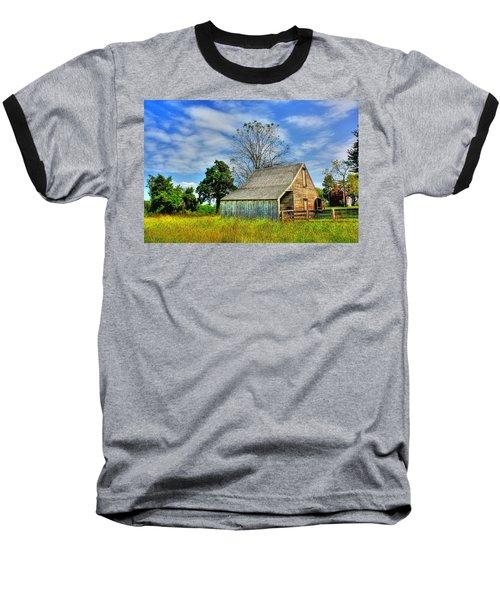 Mclean House Barn 1 Baseball T-Shirt by Dan Stone