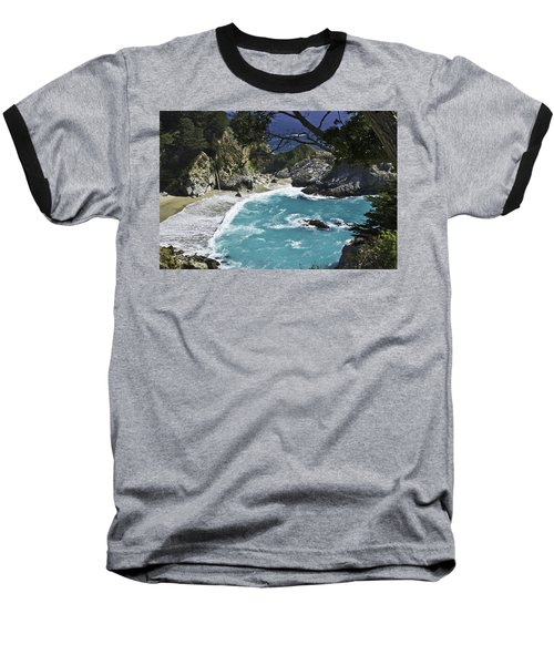 Mcway Falls - Big Sur Baseball T-Shirt