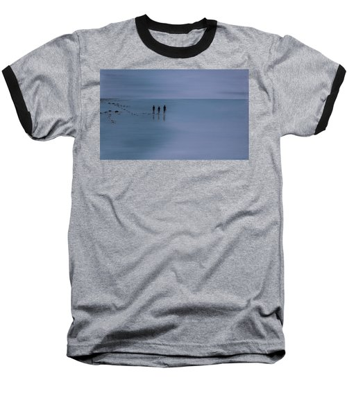 Baseball T-Shirt featuring the painting Mdt 1.2 by Tim Mullaney