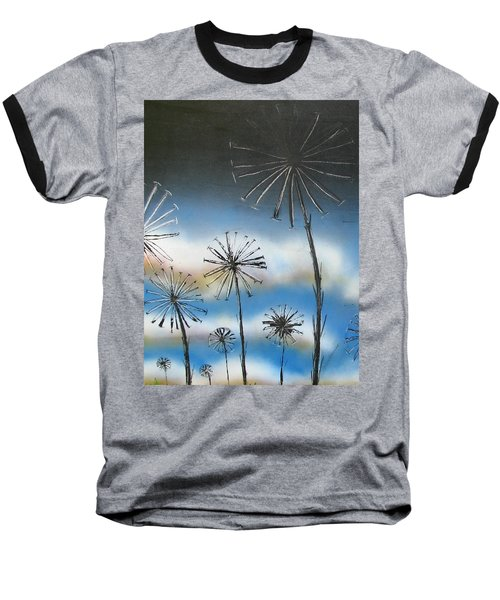Meadow At Dawn Baseball T-Shirt