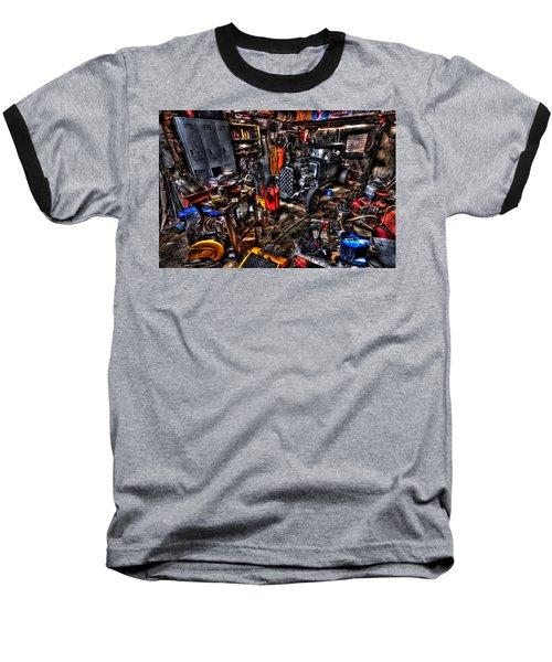 Mechanics Garage Baseball T-Shirt