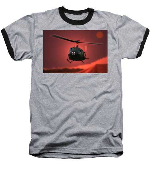Medevac The Sound Of Hope Baseball T-Shirt by Thomas Woolworth