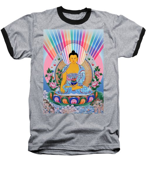 Medicine Buddha 1 Baseball T-Shirt