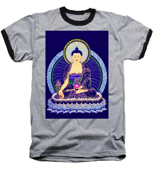 Medicine Buddha 6 Baseball T-Shirt by Lanjee Chee