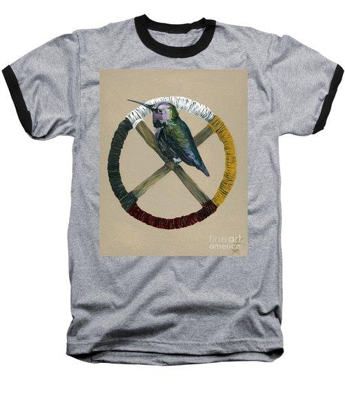 Medicine Wheel Baseball T-Shirt
