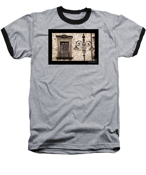 Medieval And Modern Baseball T-Shirt
