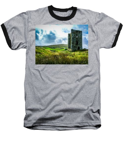 Medieval Dunmanus Castle On Ireland's Mizen Peninsula Baseball T-Shirt