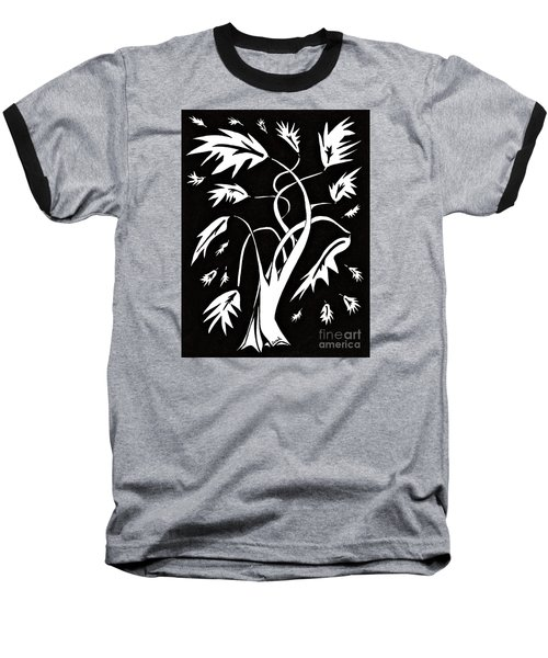 Medieval Tree Baseball T-Shirt