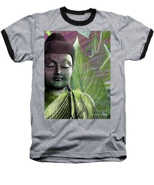 Meditation Vegetation Baseball T-Shirt