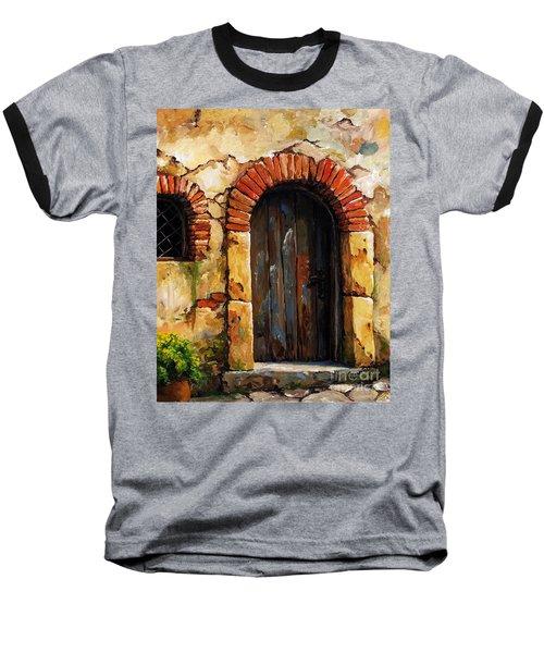 Mediterranean Portal 02 Baseball T-Shirt