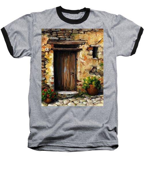 Mediterranean Portal Baseball T-Shirt