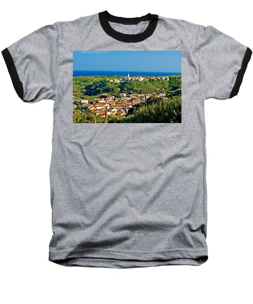 Mediterranean Town Of Susak Croatia Baseball T-Shirt