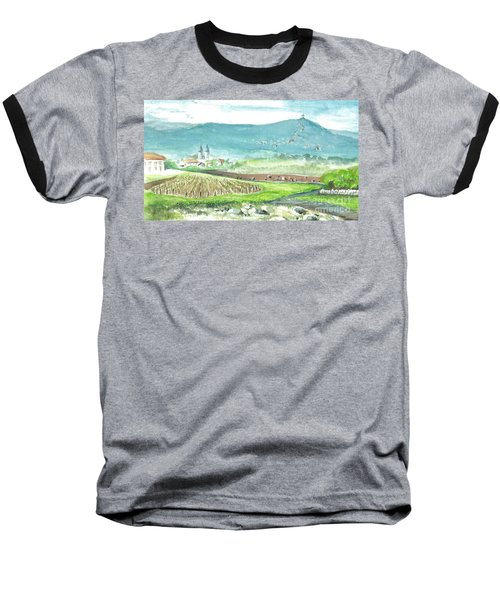 Medjugorje Fields Baseball T-Shirt