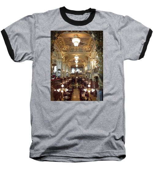 Meet Me For Coffee - New York Cafe - Budapest Baseball T-Shirt