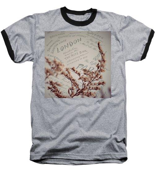 Meet Me In Paris Baseball T-Shirt