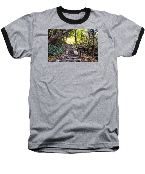 Baseball T-Shirt featuring the photograph Meigs Creek Trailhead by Paul Mashburn