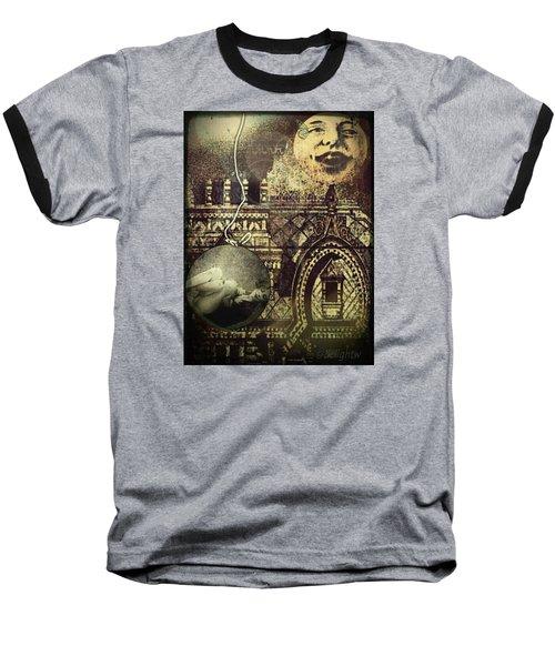 Melies Man In The Moon Baseball T-Shirt