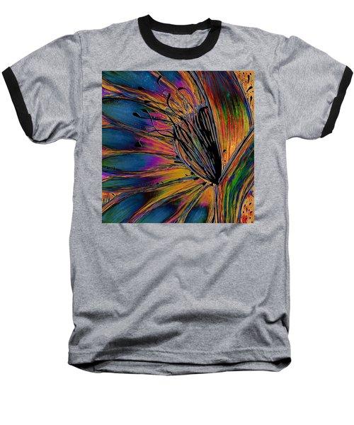 Melted Crayons Baseball T-Shirt