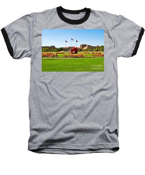 Baseball T-Shirt featuring the photograph Memorial Circle by Mae Wertz