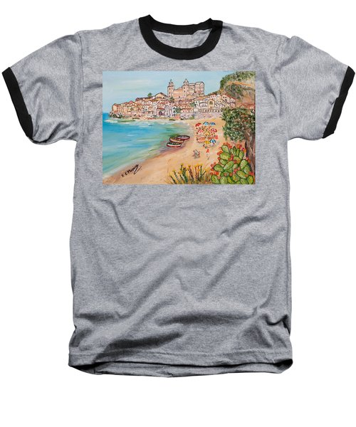 Memorie D'estate Baseball T-Shirt by Loredana Messina