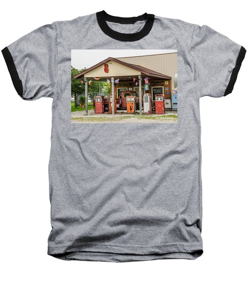 Baseball T-Shirt featuring the photograph Memories Of Route 66 by Sue Smith