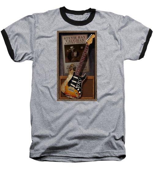 Baseball T-Shirt featuring the digital art Memories Of Stevie by WB Johnston