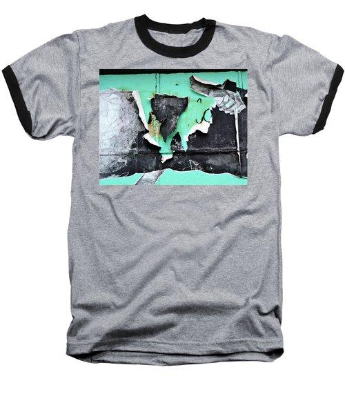Memphis Found Art Green Good On Ya Baseball T-Shirt by Steve Archbold