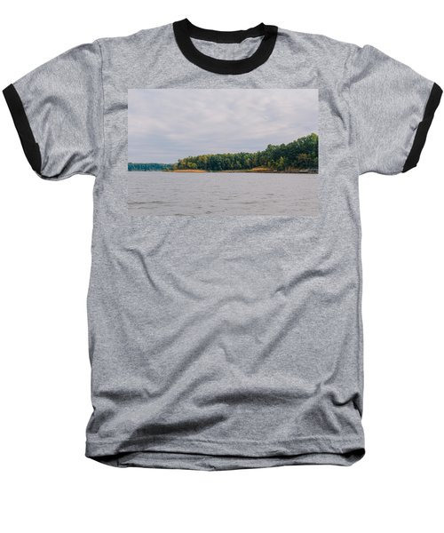 Men Fishing On Barren River Lake Baseball T-Shirt