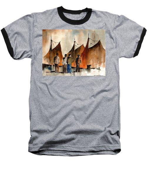 Men Looking At Hookers  Galway Baseball T-Shirt