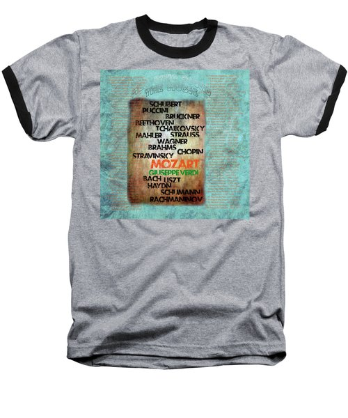 Men Who Found The Music Baseball T-Shirt