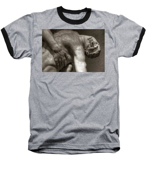 Menelaus Supporting The Body Of Patroclus Baseball T-Shirt
