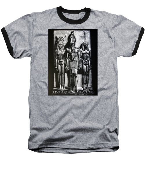 Menkaure Triad Baseball T-Shirt