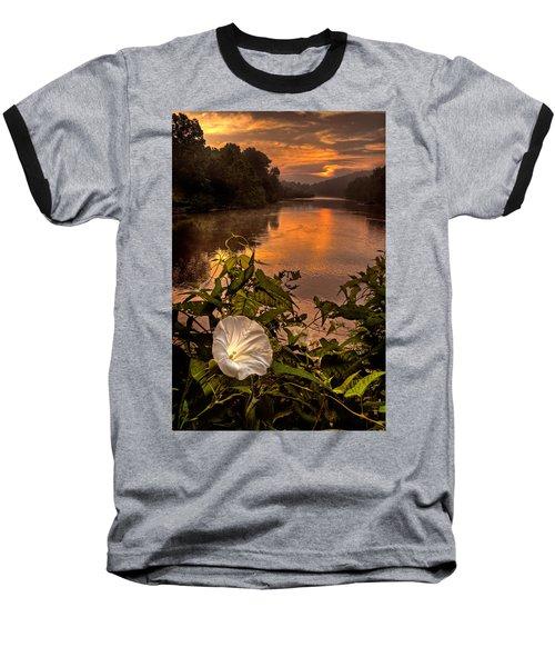 Meramec River At Chouteau Claim Baseball T-Shirt