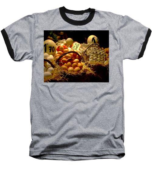 Baseball T-Shirt featuring the photograph Mercat De La Boqueria by Lisa Phillips