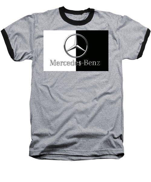 Mercedes-benz Logo Baseball T-Shirt