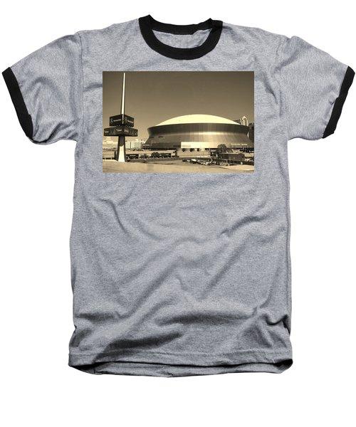 Mercedes Benz Superdome - New Orleans La Baseball T-Shirt
