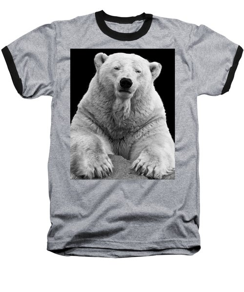 Mercedes The Polar Bear Baseball T-Shirt
