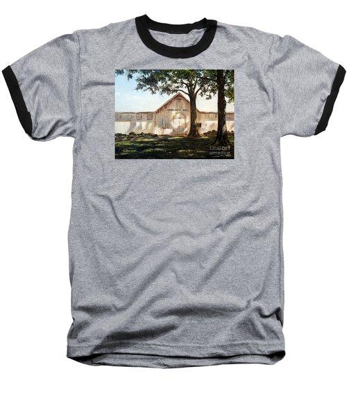 Merchants Hall Baseball T-Shirt by Lee Piper