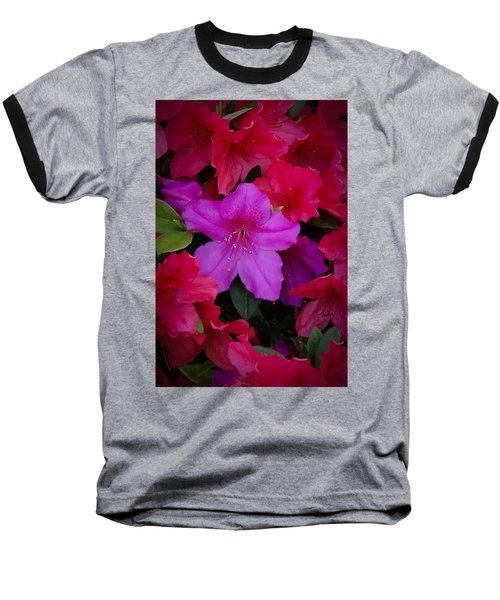 Merging Azaleas 2 Baseball T-Shirt
