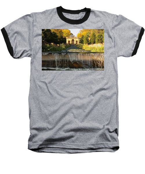 Meridian Hill Park Waterfall Baseball T-Shirt
