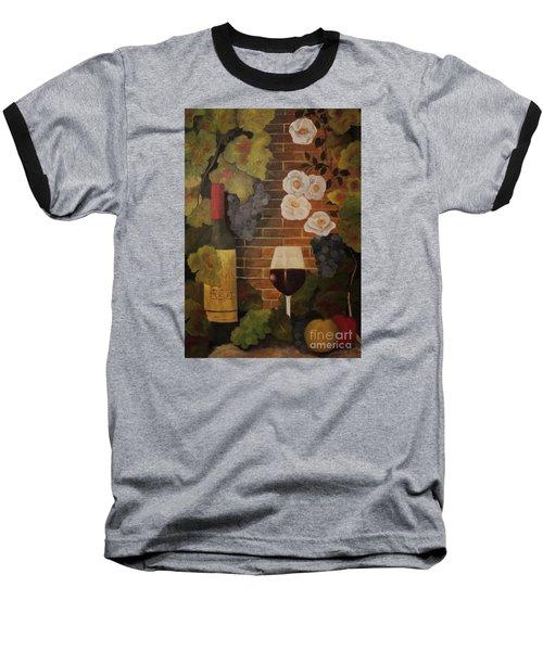 Merlot For The Love Of Wine Baseball T-Shirt by John Stuart Webbstock