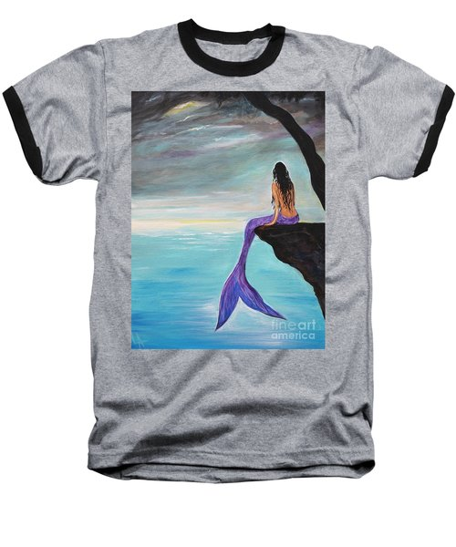 Mermaid Oasis Baseball T-Shirt