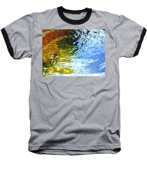 Mermaids Den Baseball T-Shirt by Deborah Moen