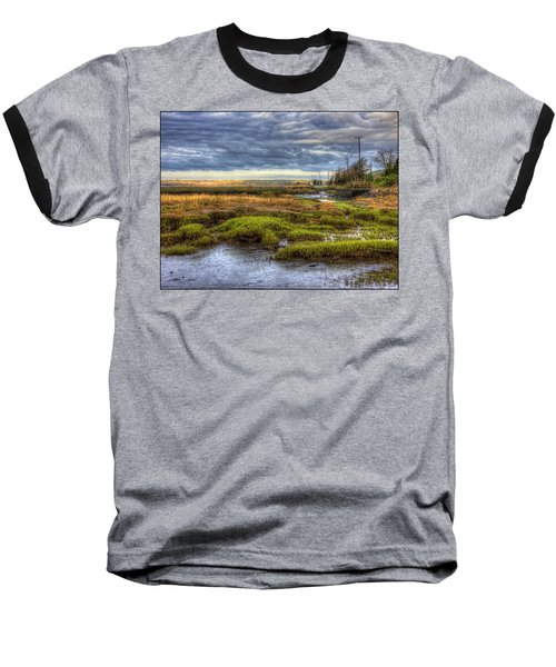 Merrimack River Marsh Baseball T-Shirt
