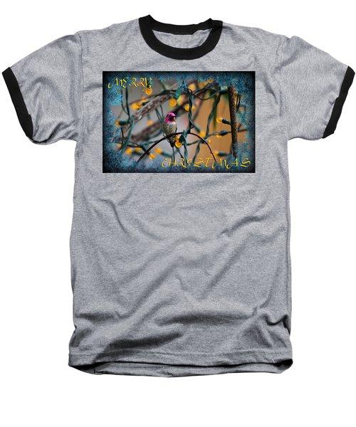 Merry Christmas Hummer Baseball T-Shirt